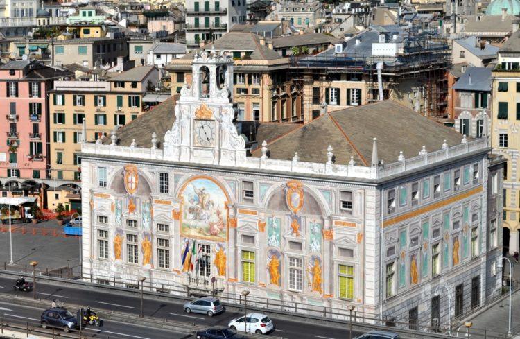 Палаццо Сан-Джорджо - достопримечательности Генуи
