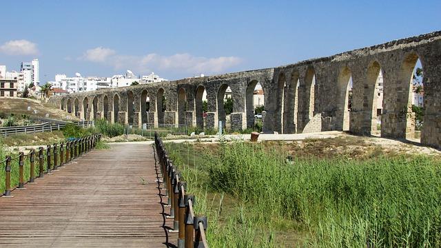 Акведук Камарес - Что посмотреть в Ларнаке