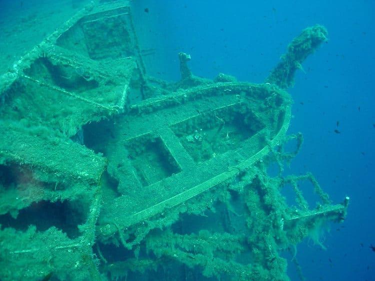 Затонувший паром Зенобия - достопримечательности Ларнаки