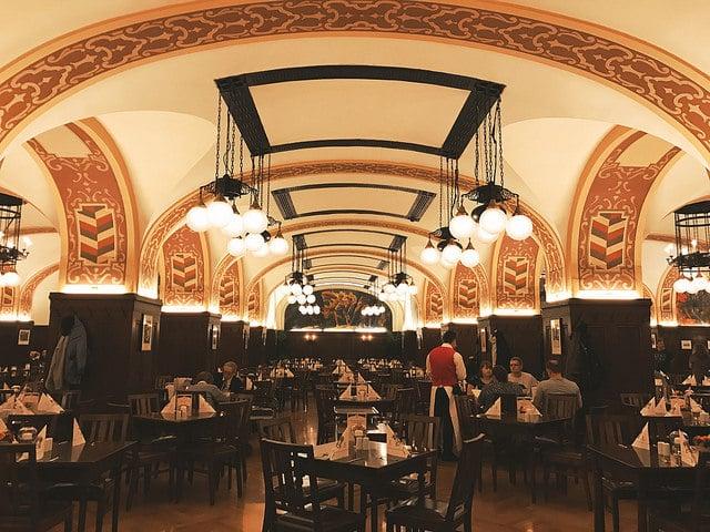 Ресторан Погреб Ауэрбаха - достопримечательности Лейпцига