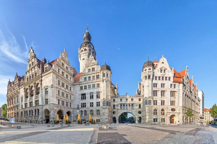 Новая ратуша - достопримечательности Лейпцига