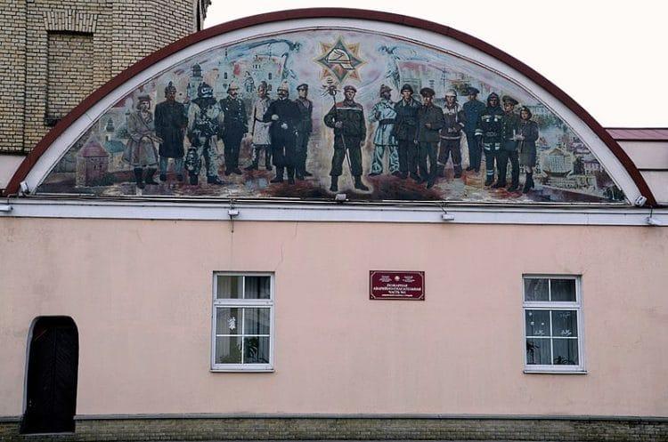 Башня пожарного депо - достопримечательности Гродно
