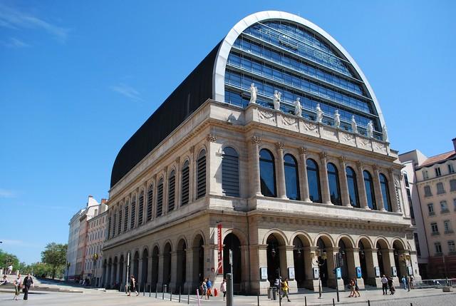 Лионская опера во Франции
