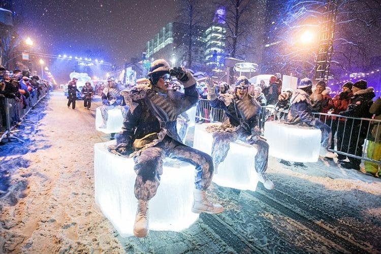 Квебекский зимний карнавал - достопримечательности Квебека