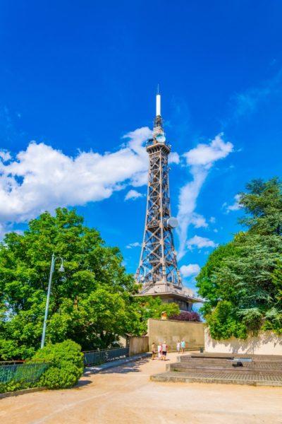 Металлическая башня Фурвьер во Франции