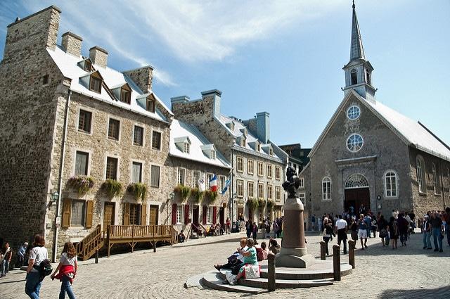 Королевская площадь - достопримечательности Квебека