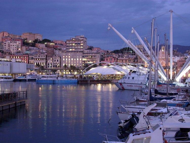 Старый порт - достопримечательности Генуи