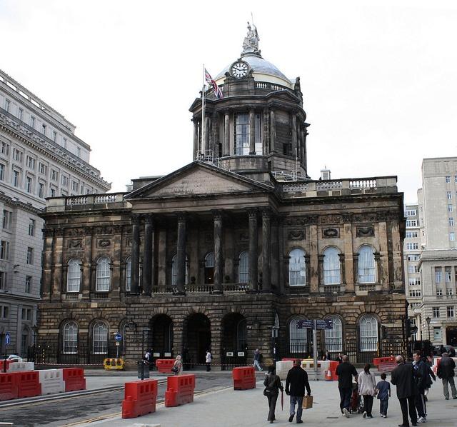 Городская ратуша - достопримечательности Ливерпуля