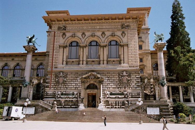 Дворец Рюмина - достопримечательности Лозанны