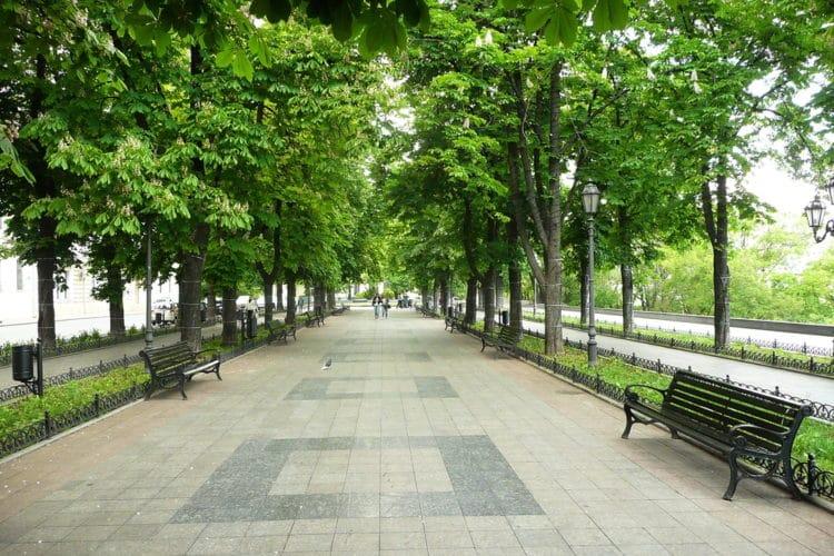 Приморский бульвар - достопримечательности Одессы