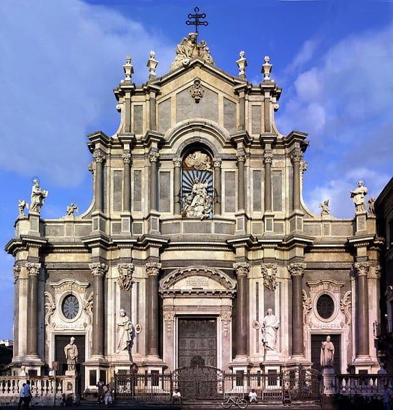 Кафедральный собор Святой Агаты - достопримечательности Катании