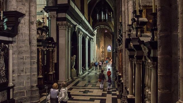 Собор Святого Бавона - достопримечательности Гента
