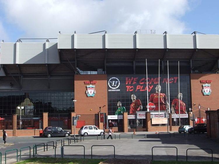 Стадион Энфилд - достопримечательности Ливерпуля