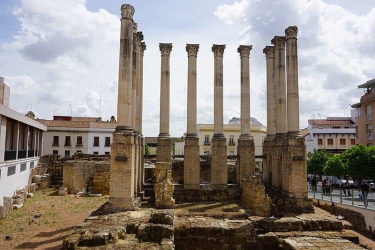 Римский храм - достопримечательности Кордовы
