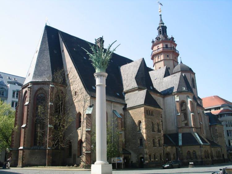Церковь Святого Николая - достопримечательности Лейпцига