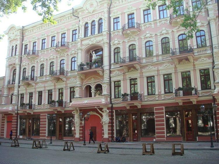 Гостиница Бристоль - достопримечательности Одессы