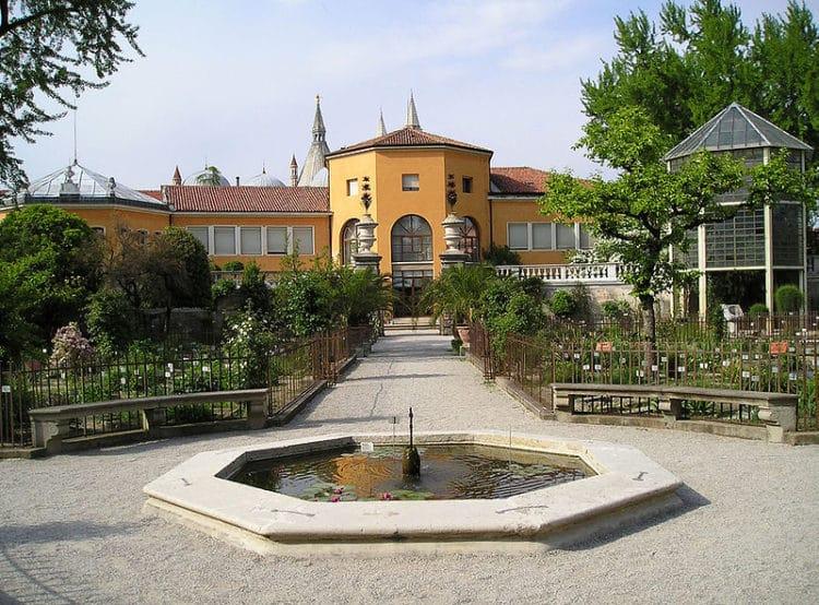Ботанический сад - достопримечательности Падуи
