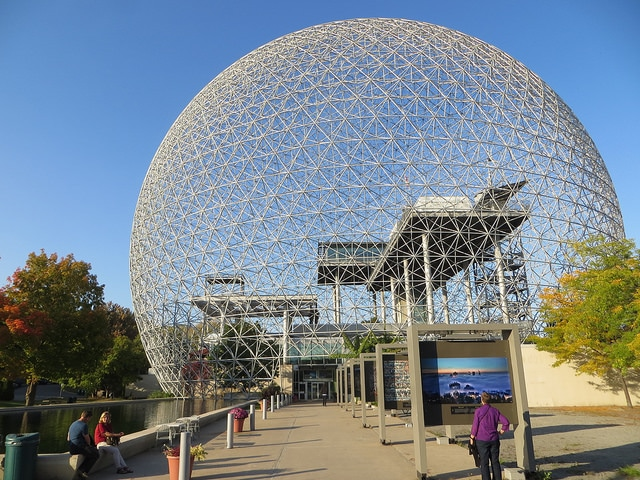 Биосфера - достопримечательности Монреаля