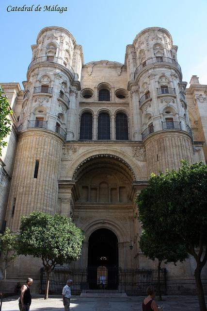 Малагский собор - достопримечательности Малаги