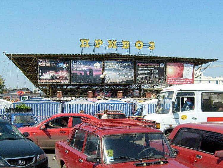 Рынок «Привоз» - достопримечательности Одессы