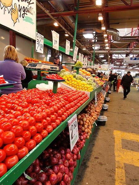 Рынок «Жан-Талон» - достопримечательности Монреаля