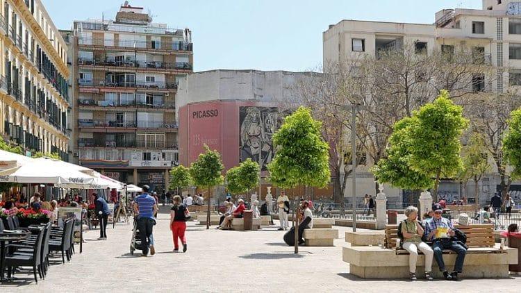 Площадь Мерсед - достопримечательности Малаги
