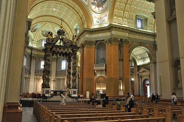 Собор Марии Царицы Мира - достопримечательности Млнреаля
