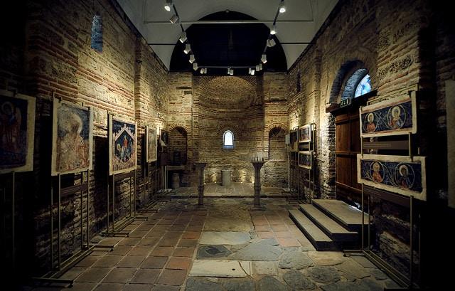 Церковь Св. Параскевы - достопримечательности Несебра
