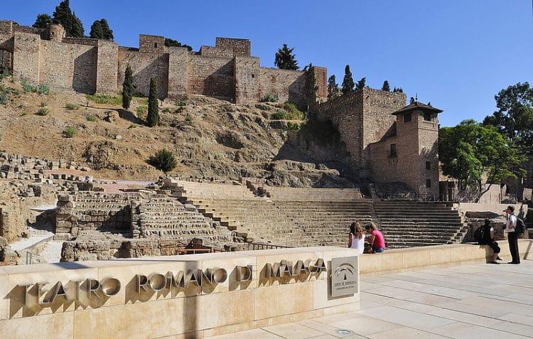 Крепость Хибральфаро - достопримечательности Малаги