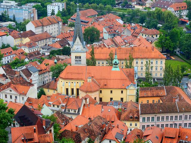 Старый город - достопримечательности Любляны