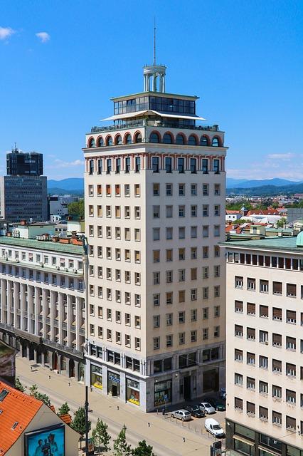 Люблянский небоскрёб - достопримечательности Любляны