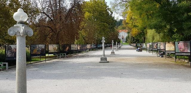 Парк Тиволи - достопримечательности Любляны