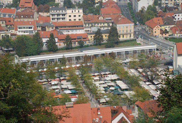 Центральный рынок - достопримечательности Любляны