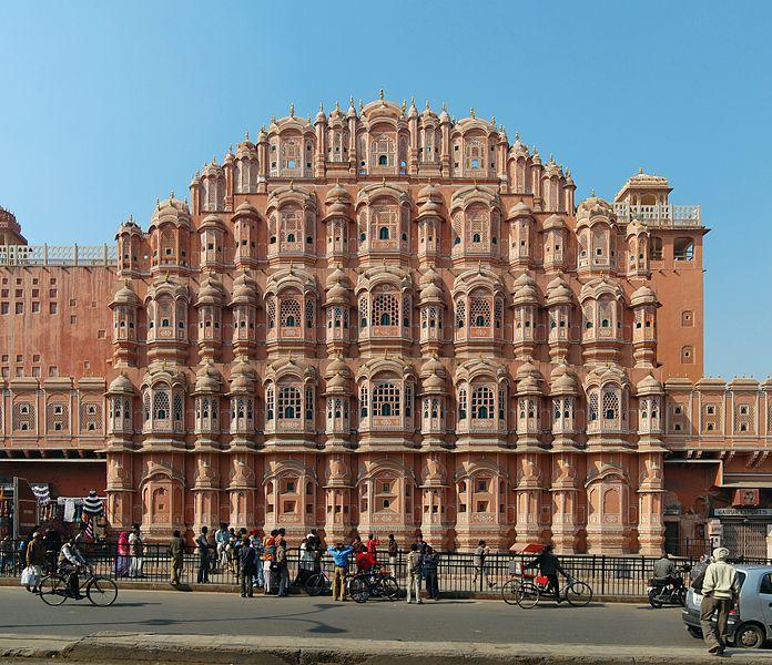 Дворец Хава-Махал в Индии