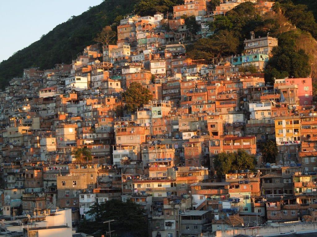 Трущобы в Рио