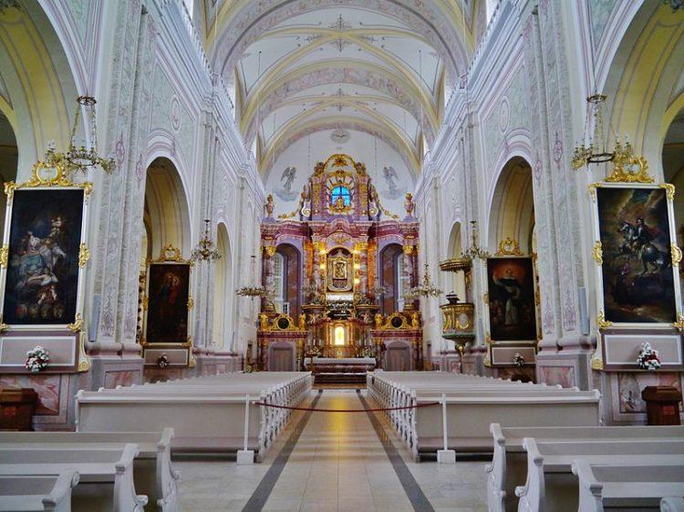 Аглонская базилика в Латвии