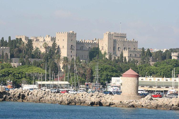Дворец Великих Магистров в Греции